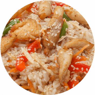 Chicken Stir-Fry/Rice